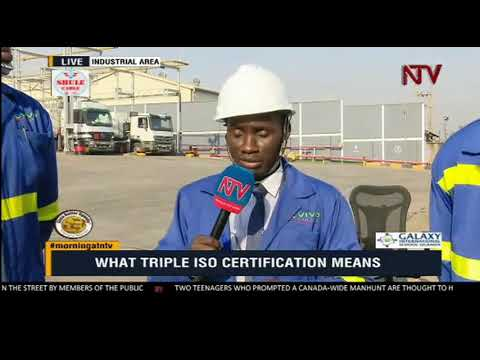 Gilbert Assi, managing director Vivo Energy explains what tripple ISO certfication means