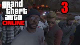 GTA 5 Online PS4 - THE TEAM ON MY BACK!   (GTA V Online PS4)   Part 3