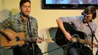 The Arkells - Coffee (acoustic) @ 98.9 the Drive studio in Kingston