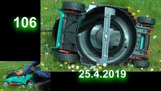 Rasenmäher von Bosch Akku Rasenmäher im Test mit Detlef Römisch
