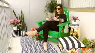 ☑️ Top 41 Small Balcony Decorating Ideas 2018 | Small Apartements Patio On A Budget Design