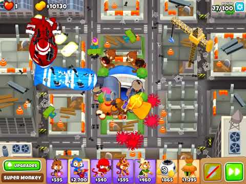 Bloons TD 6 - High Finance CHIMPS v5 0 - challenge with no