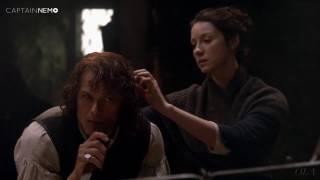 Чужестранка (Outlander), Deleted Scene 2x09 Je Suis Prest: Spear Them with your Dirk [RUS SUB]