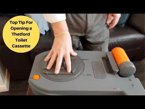 Thetford Cassette Toilet Top Tip