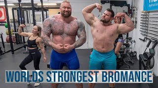 Two Pressing Monsters, Two Different Styles - 7 Weeks to World's Strongest Man