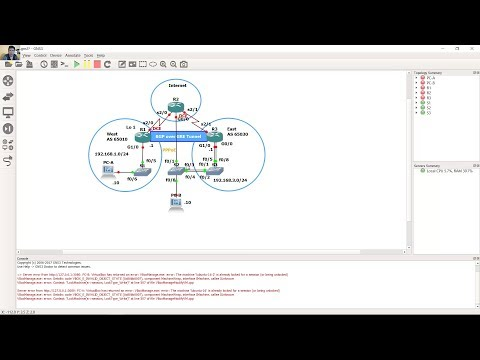 Connecting Networks 6.0 - Skills Assessment - GNS3 - YouTube