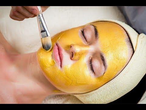 Maschera per pelle di faccia pulita con porridge