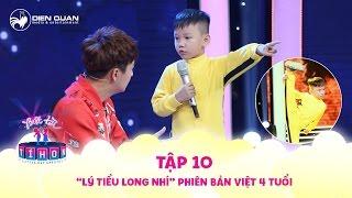 """Biệt tài tí hon   tập 10: """"Lý Tiểu Long nhí"""" 4 tuổi phiên bản Việt khiến Chi Pu, Mỹ Linh phát cuồng"""
