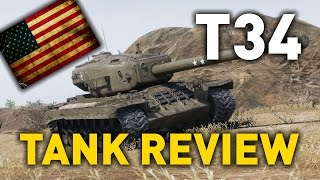 World of Tanks || T34 - Tank Review