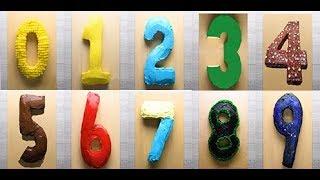 Recette 11 - Gâteau Nombre ou Cake number façon / تقطيع كيكة الأرقام بطريقة بسيطة جدا
