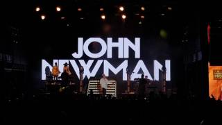 JOHN NEWMAN - Gold Dust @ BOSCO FRESH FEST in MOSCOW 25 june 2017