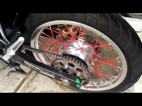 Video Modifikasi motor cb150r jari-jari #otovlog