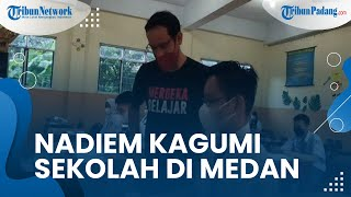 Mendikbud Nadiem Makarim Kagum saat Kunjungi Yayasan Sultan Iskandar Muda, Ungkap soal Keunikan