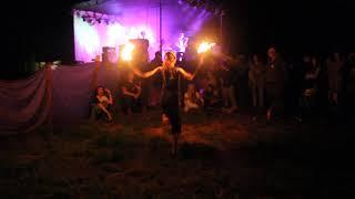 Дивные берега 2017, 5 часть, главная сцена, Огненное шоу, Рапапам