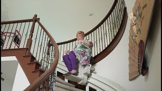 Bruno Stair Lifts   Featured on TLC