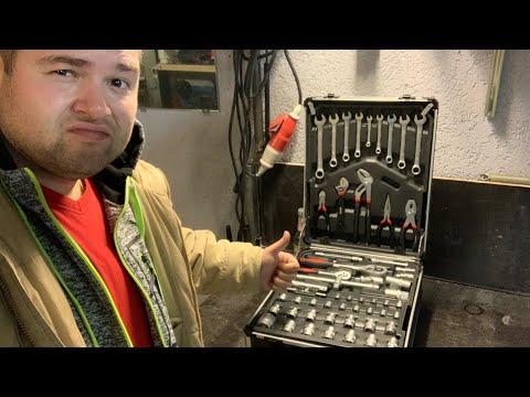 MASKO TROLLEY Werkzeugkoffer Set 949 Teile unboxing