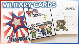 DIY Military Appreciation Cards To Thank A Service Member or Veteran