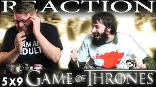 "Game of Thrones 5x9 REACTION!! ""The Dance of Dragons"""