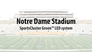 Musco Lighting at Notre Dame Stadium