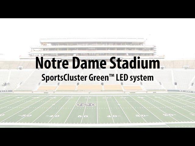 Musco Lighting at Notre Dame Stadium