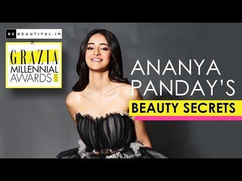 SOTY Actress Ananya Panday REVEALES Her Beauty Secret At GMA   Ananya Pandey Interview   BeBeautiful