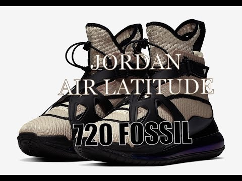 ( FIRST LOOK ) Jordan air latitude 720 fossil Exclusively for the ladies!!!