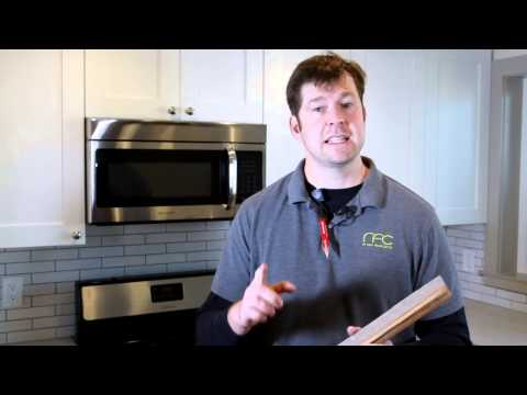 Should Hardwood Be Installed Under Kitchen Cabinets? : DIY Home Repairs