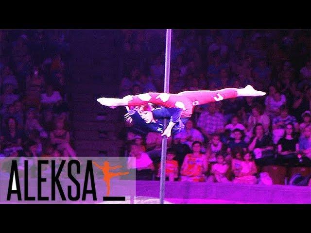 Китайский пилон. Пол Денс дети - Pole Dance - Pole Kids). Танец на китайском пилоне - Мария Грибенко