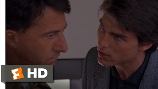 Rain Man (5/11) Movie CLIP - Flying's Very Dangerous (1988) HD