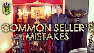 James Bean Estate Sales Common Seller's Mistakes
