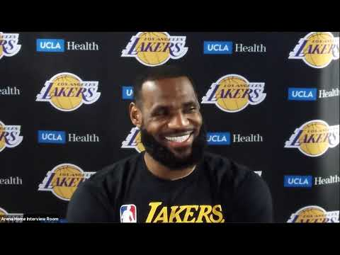 LeBron James Postgame Interview | Nuggets vs Lakers | August 10, 2020