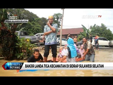 Banjir Rendam Rumah Warga dan Jalan Trans Sulawesi