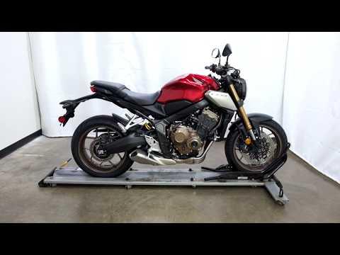 2019 Honda CB650R in Eden Prairie, Minnesota - Video 1