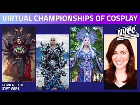 Cosplay Central's Virtual Championships of Cosplay | Powered by SYFY WIRE