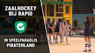 Zaalhockey bij Rapid: in speelparadijs Piratenland!