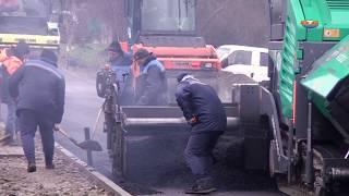 Асфальтирование дороги по  ул. Карбышева