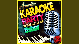 What I Need (In the Style of Julie Reeves) (Karaoke Version)