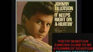 Johnny Tillotson's POETRY IN MOTION - cover Tribute