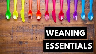 Starting Solids | Weaning Essentials | Baby-Led Weaning