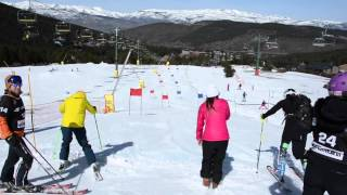 preview picture of video 'THE SKIFEST LA MOLINA'