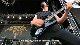 Anthrax - Refuse/Resist & I Am the Law [The Big Four: Live Gothenburg 2011 HD] (Subtitulos Español)