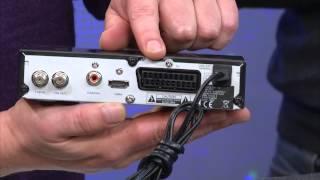 esoSAT Satelliten-Flachantenne FA-310.HD mit digitalem Single-LNB