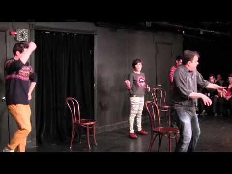 Scrambled Legs - Full House Sequel Theme Song - UCB NY Cagematch - December 5, 2013