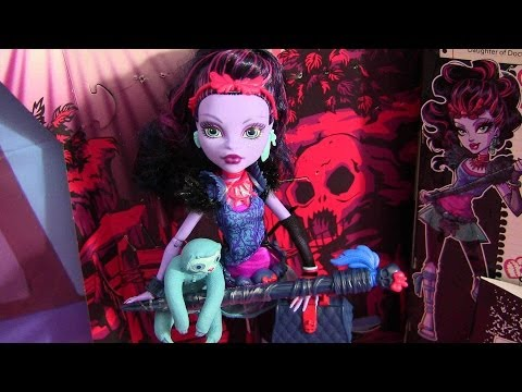 MONSTER HIGH JANE BOOLITTLE DOLL REVIEW VIDEO!!! :D