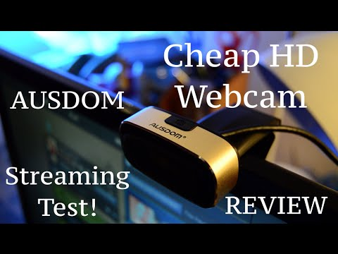 CHEAP STREAMING WEBCAM??? REVIEW + STREAMING TEST (Budget Tech) 2016