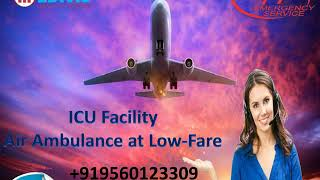 Hire Hi-Tech Air Ambulance from Patna to Delhi with Doctor