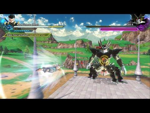 Super Dragon Ball Heroes 2 Cell X Bardock Xeno Time Patroller