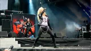 Arch Enemy - Bloodstained Cross (Live @ Bang Your Head 2012)