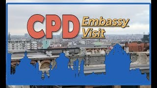 CPD Embassy Visit: Dutch Embassy in Brussels