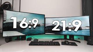 UltraWide 21:9 vs UHD 4K – Welcher Monitor ist besser für dich?